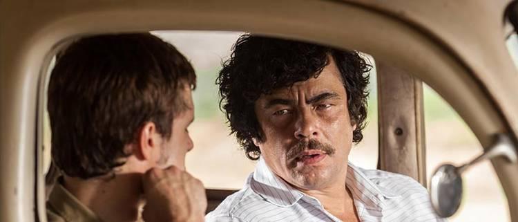 """Benicio del Toro en """"Escobar, paraíso perdido"""""""
