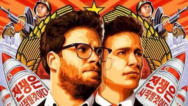 "Seth Rogen y James Franco en ""The Interview"", la película que desató la ira de Kim Jong Un"