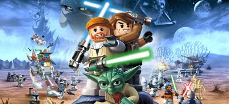 "Anakin Skywalker y Obi Wan Kenobi junto a Yoda en ""Las crónicas de Yoda"""