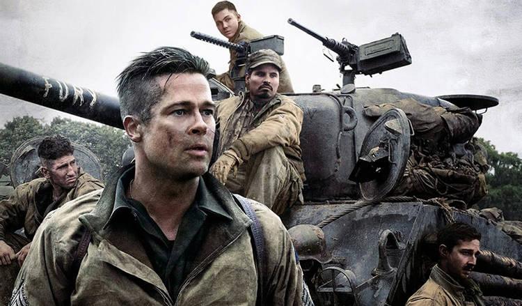 Brad Pitt protagoniza Corazones de hierro