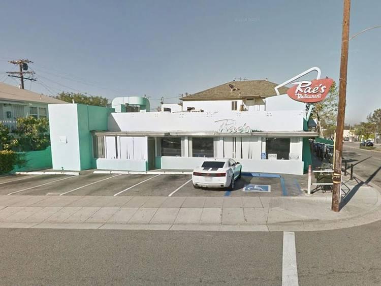 Rae's Restaurant, 2297 Yorkshire Avenue, Santa Monica, California