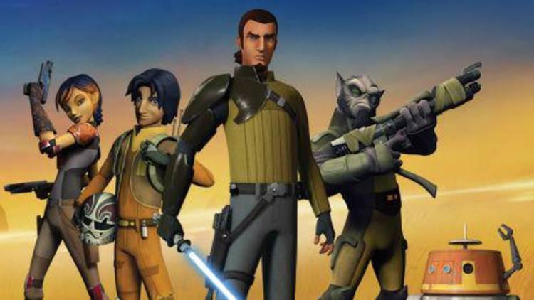 """La versión animada de """"Star Wars"""" se llama """"Star Wars Rebels"""""""