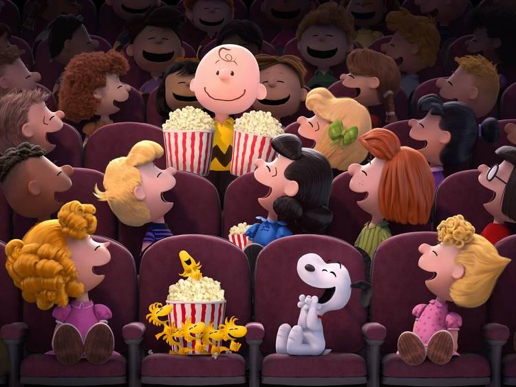 La película de Snoopy