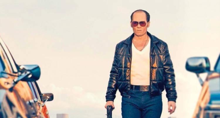 Johnny Depp en Black Mass