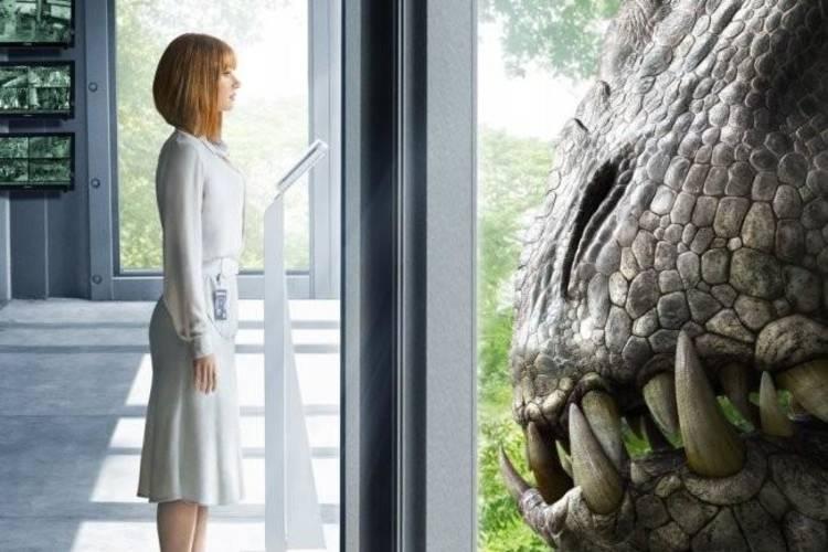 Los impactantes posters de Jurassic world