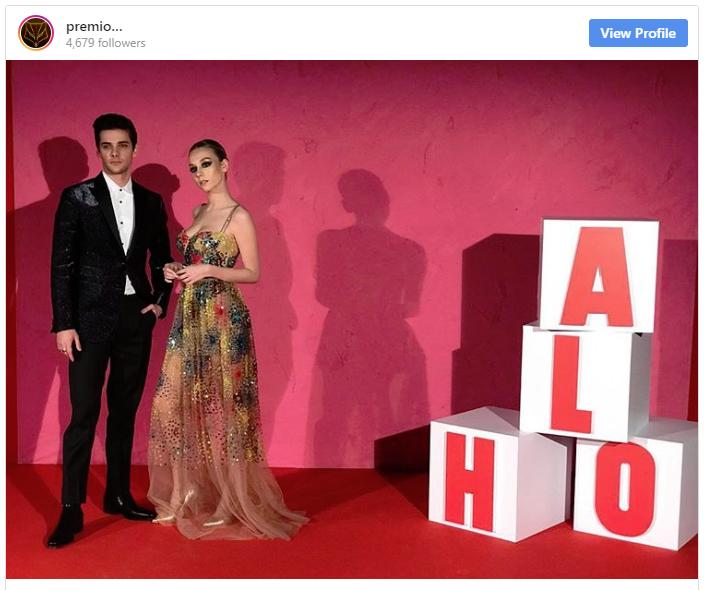 Los actores de ÉLITE en los Premios FEROZ 2019 Álvaro Rico Ester Expósito