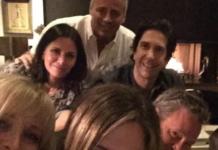 Jennifer Aniston en Instagram - Reunión de los actores de Friends