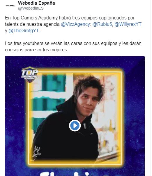 El Rubius en Top Gamers Academy