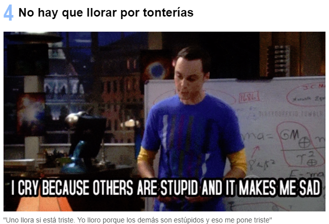 Lo Que Nos Ha Enseñado Sheldon Cooper Frases Sheldon