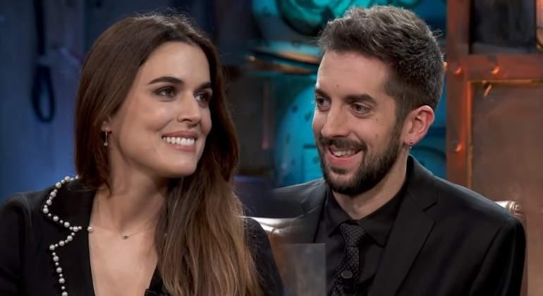 Adriana Ugarte y David Broncano pareja de moda