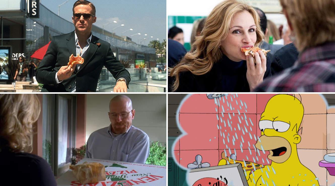 Lo que el cine y la televisión nos ha enseñado de la pizza