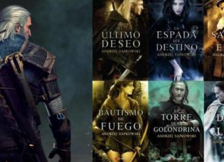 the witcher libros